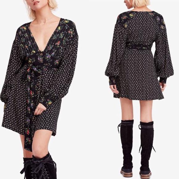 08038b955600 Free People Dresses | Nwt Wonderland Mini Dress Xs | Poshmark